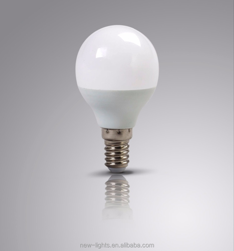 Energy saving bulbs plastic LED BULB housing ,E14 led bulb G45 160V-270v G45 led global bulb G45 Led well