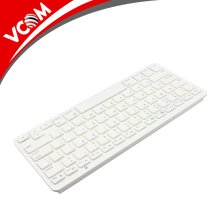 Aluminum Wireless Mini Bluetooth Keyboard for Smartphones and Tablets