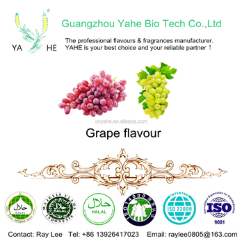 Best quality grape flavor food grade flavoring liquid high concentrated oil for drinks