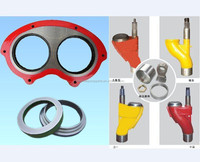wear plate and cutting ring concrete machinery parts