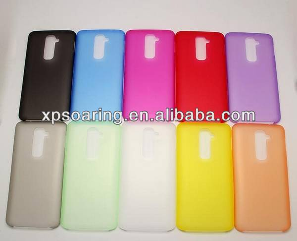 Ultra-thin soft case back cover for LG G2 D802