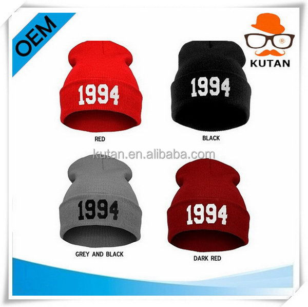 Top quality classical cheap beanies in store