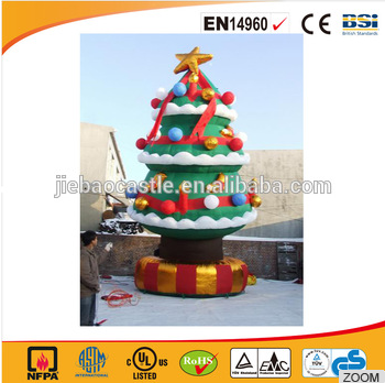 2017 hot sale inflatable Christmas tree/festival inflatables for commercial use/Rental use inflatable in good price