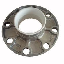 FM UL Casting Iron Fittings Grooved Pipe Flange Adaptor