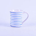 Wholesale blue ceramic mug