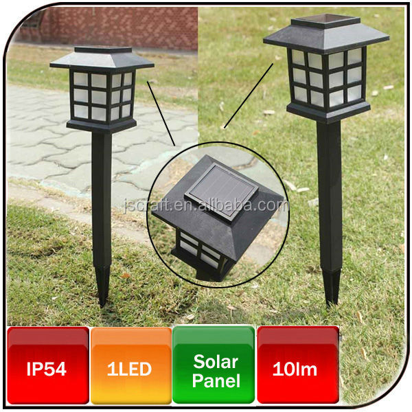 Hot sale outdoor European style led mini garden light solar lawn light