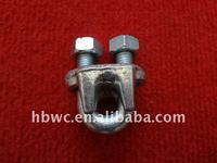 electric hardware, hot-dip galvanized steel guy clip