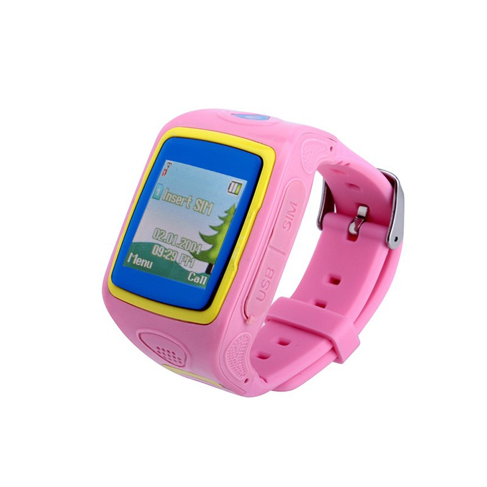 2016 fashion new product cheapest ce rohs kids gps bracelet wrist smart watch phone