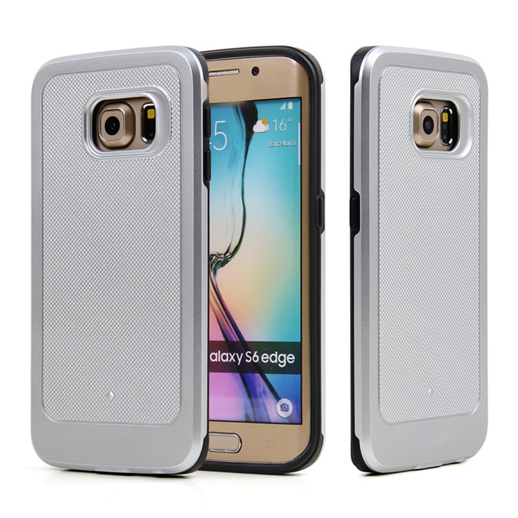 Protective 2 in 1 Combo Hybrid TPU PC Cell Mobile Phone Back Cover Case for Iphone 5 6 6 plus