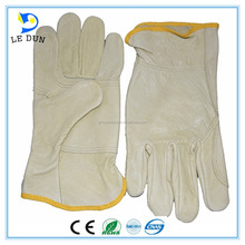 Cheaper Leather sheep skin men working driving gloves Factory wholesale