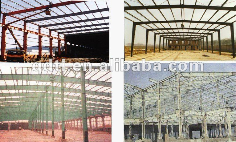 steel structure work construction