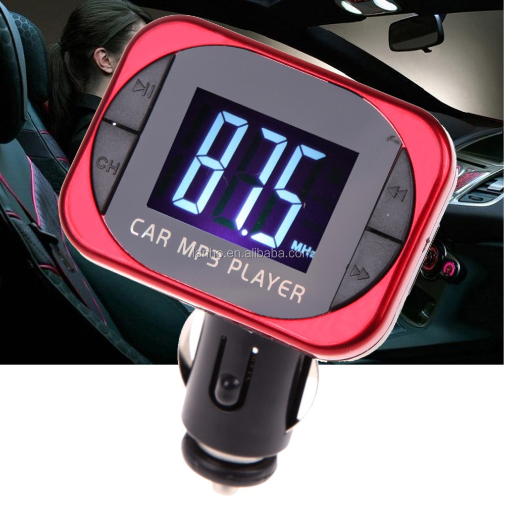 2016 Hot Sale LCD Displayer Wireless FM Transmitter Stereo MP3 Player Car Kit FM Modulator SD/MMC/USB/MP3 Music Player