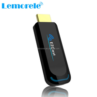 Ezcast 5G dual band wifi Smart TV Stick Miracast DLNA airplay wireless display dongle with APP