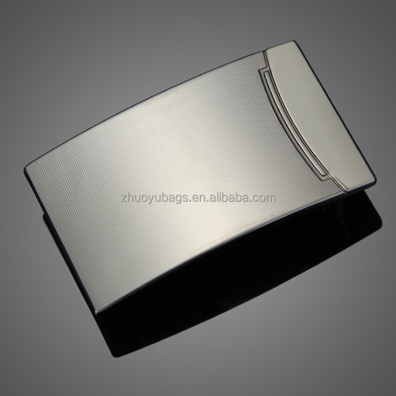 new fashion types of custom mens metal belt buckles
