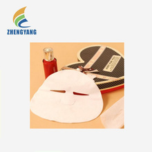 Anti-Wrinkle Firming Cosmetic facial mask korea made of bambo fiber spunlace nonwoven for Beauty skin care