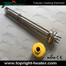 Stainless steel 3 phase industrial immersion heater element to boiler water