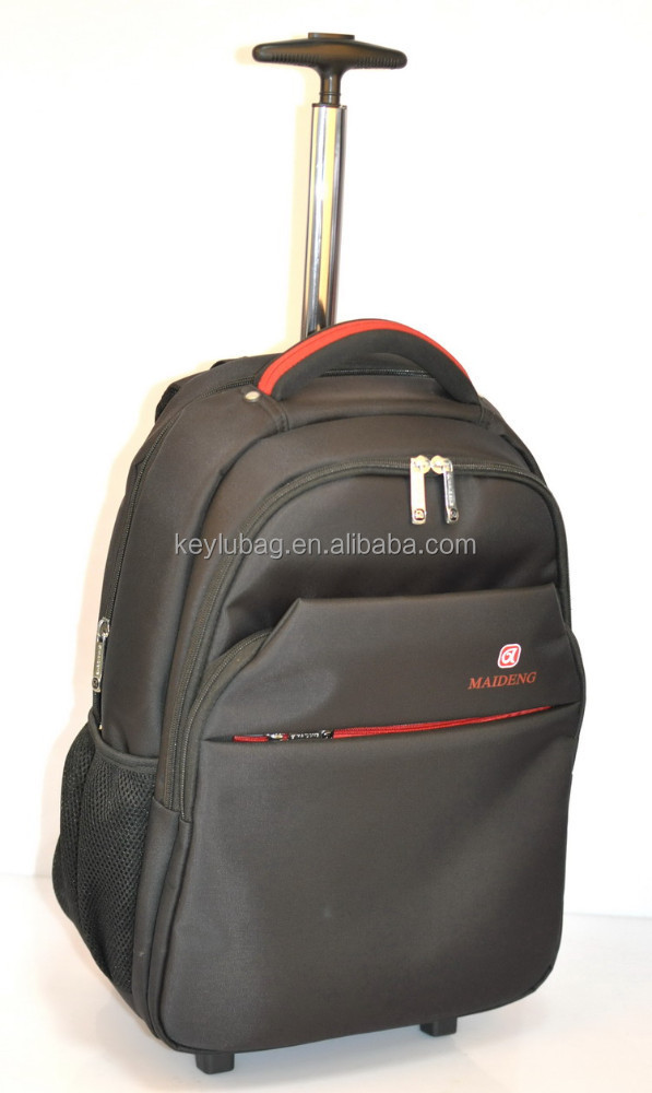 water proof nylon high quality laptop trolley backpack travel bags