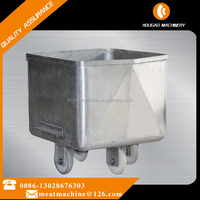 stainless steel 200L stainless steel movable meat trolley with wheels 008613028676303