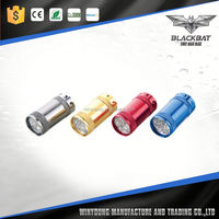 Colorful Rechargeable MINI LED Car Flashlight