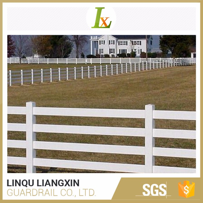 Fast Delivery Rangeland Strong Customizability White Vinyl Fences