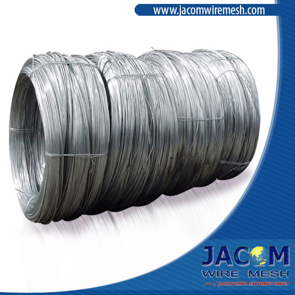2.11mm Hot Dipped Galvanized Wire 15gr Zinc 490N/mm2 Tensile Strength