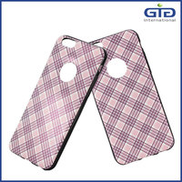 [GGIT] Hot Selling Grid TPU+PU Phone Case for IPhone 6