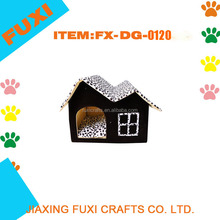 Cat/Dog Paw Prints Collapsible Pet House