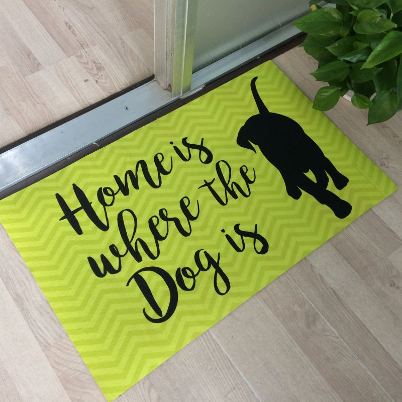 Home Decor Dye Sublimation Sublim Printed Waterproof Dog Rug