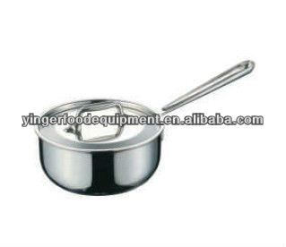 Stainless Steel Thick Single Bottom Porridge pot