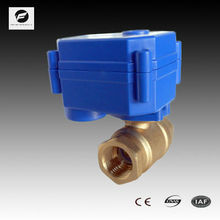 CWX-15N DN25 brass female-female NPT DC12V CR01 electric actuator ball valve