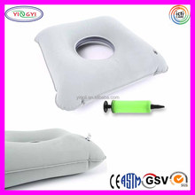E644 Inflatable Square Donut Cushion Pillow Comfortable Wedge Love Pillow Inflatable Position Master