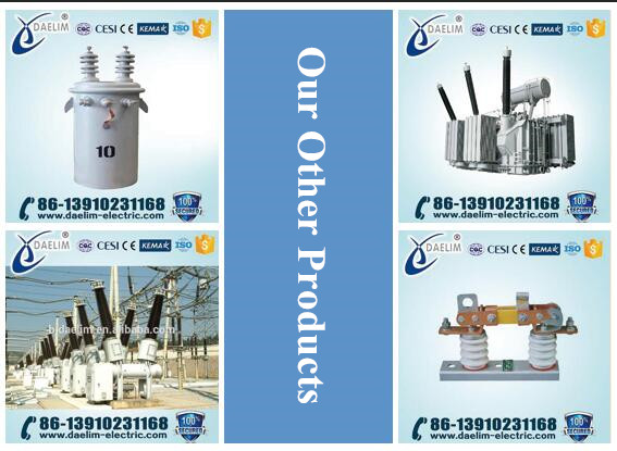 10kv Three phase oil-immersed power transformers 1500kva
