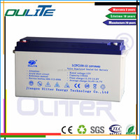 Best quality!Cheap AGM rechargeable solar gel battery12V 150AH