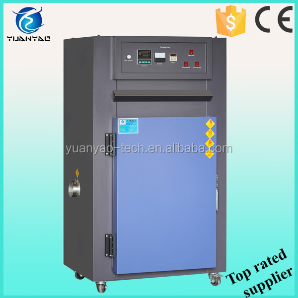 Industrial hot air cycling oven for drying PCB