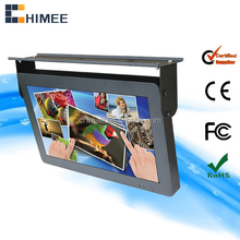 More useful LCD touch screen 22 inch bus/train/elevator advertising product display