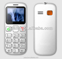 hot selling cheap seniors mobile phone support SOS button/FM radio /mp3 mp4/ bluetooth/ quad band / dual sim