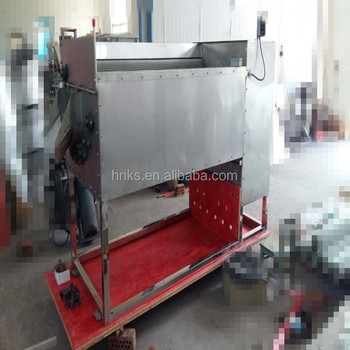 industrial brush type potato washing machine/vegetable washing machine