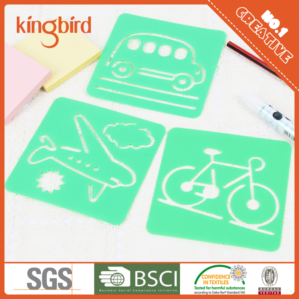 Wholesale PP Plastic Christmas Stencil Set