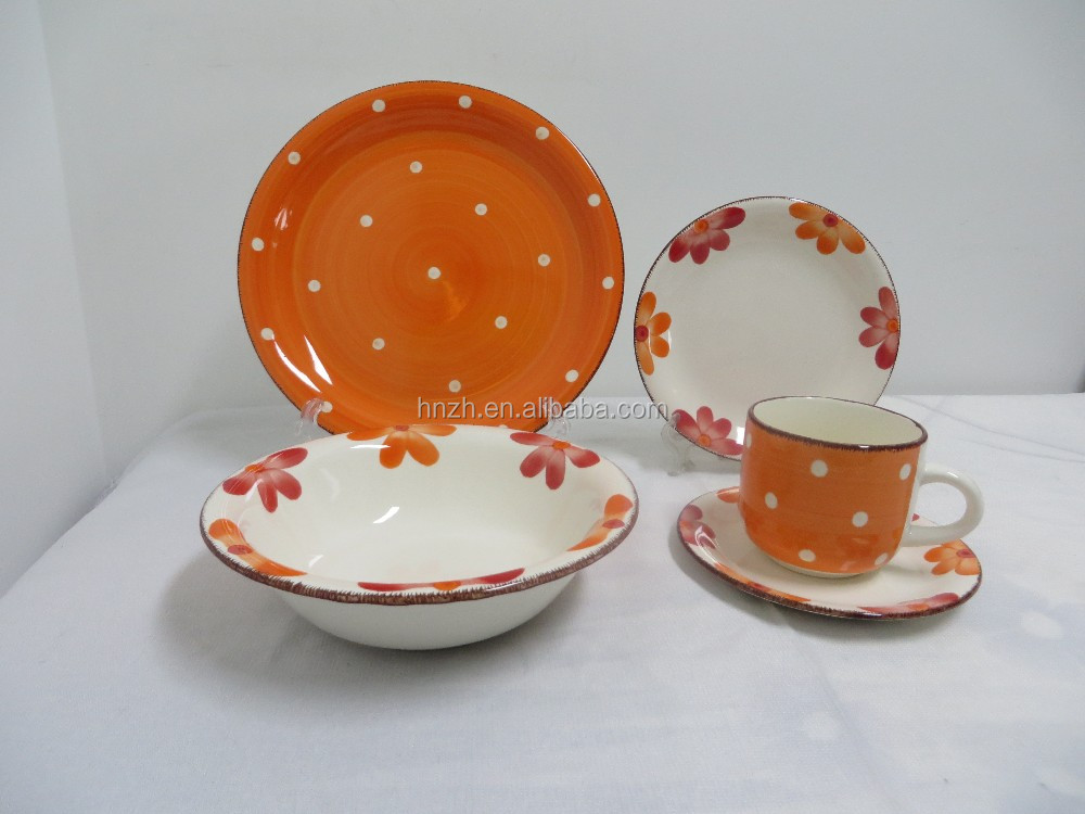 Mexican wholesale ceramic dinnerware sets table sets