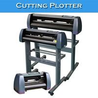 Max 400mm/S Speed 1351MM Cutter Graphic Plotters With Wire Cutting Machine