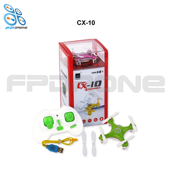 Original CX-10 CX10 Mini Drone 2.4G 4CH 6 Axis RC Quadcopter  3D rollover Toy drone  Helicopter with LED Light