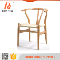 Classic solid wood wishbone Y chair