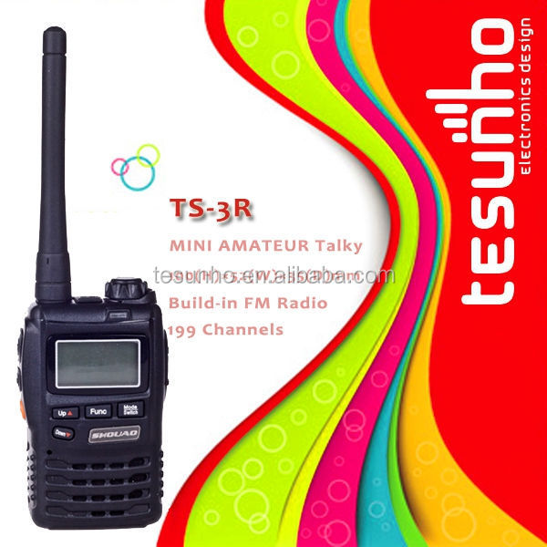 SHOUAO TS-3R lightweight 2w VOX function LCD display military grade railroad two way radio