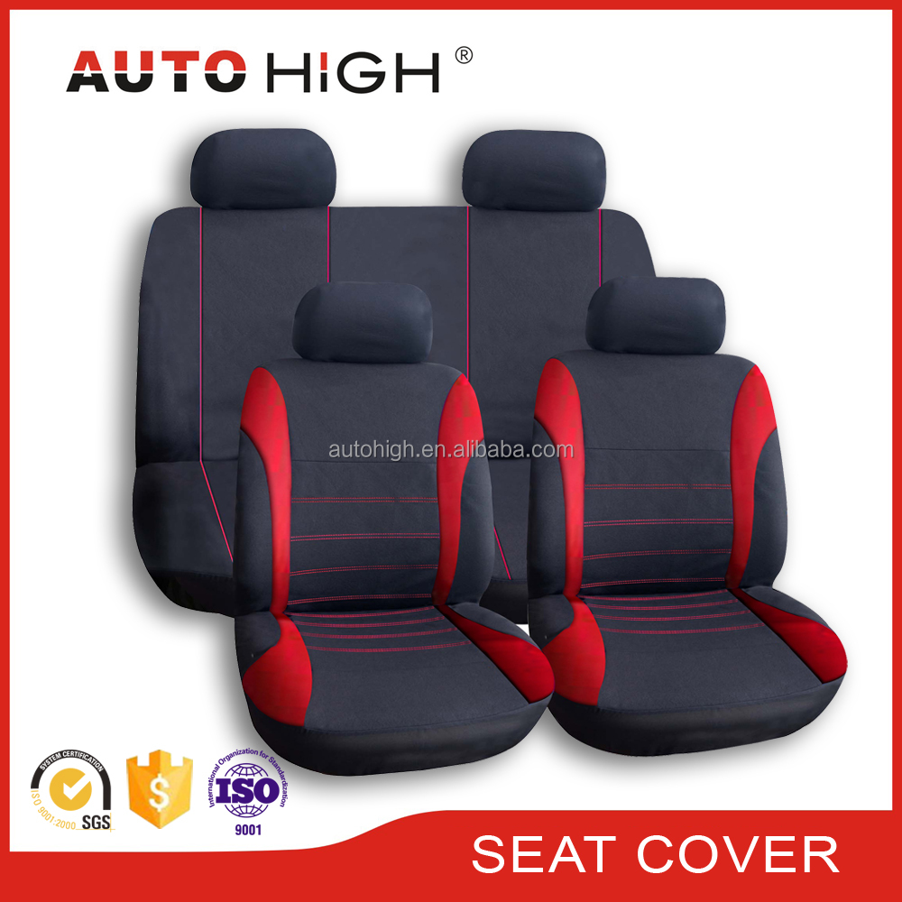 Universal size and high quality fashion 9PCS car seat cover for 4 seasons