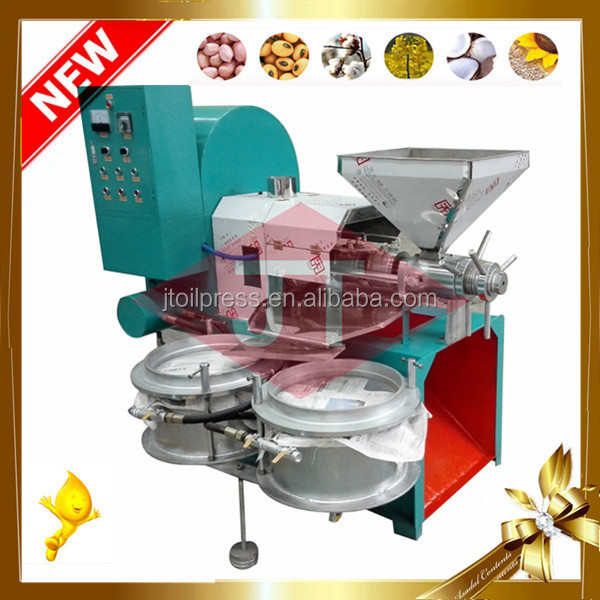 High Output Automatic Stainless Steel Vegetable Flax Seed Cold Oil Press Machine