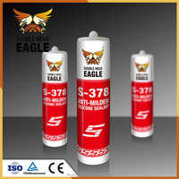 New Arrival Fast Cure Mildew Resistant Glass Silicone Sealant
