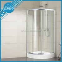2016 Hot sale low price tempered glass shower room