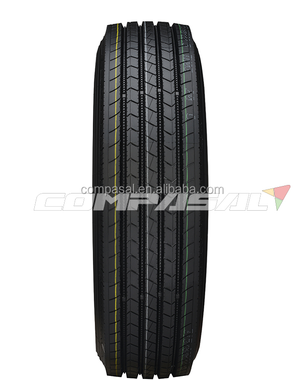 Wholesale radial truck tire COMPASAL brand from China 245/70R19.5 245 70 19.5 245X70X19.5 18PR front tyre