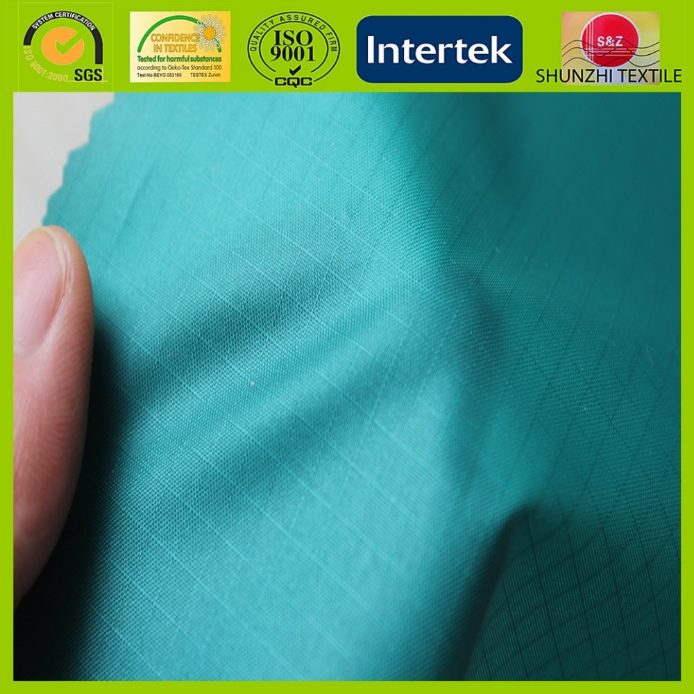 new 190T Dewspo 100% Polyester PU Coating Poly Taffeta Fabric With Water Proof