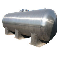used oil water storage tank 50000 liter 40000 liter for sale